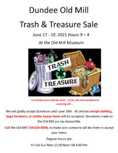 Trash Treasure Flyer