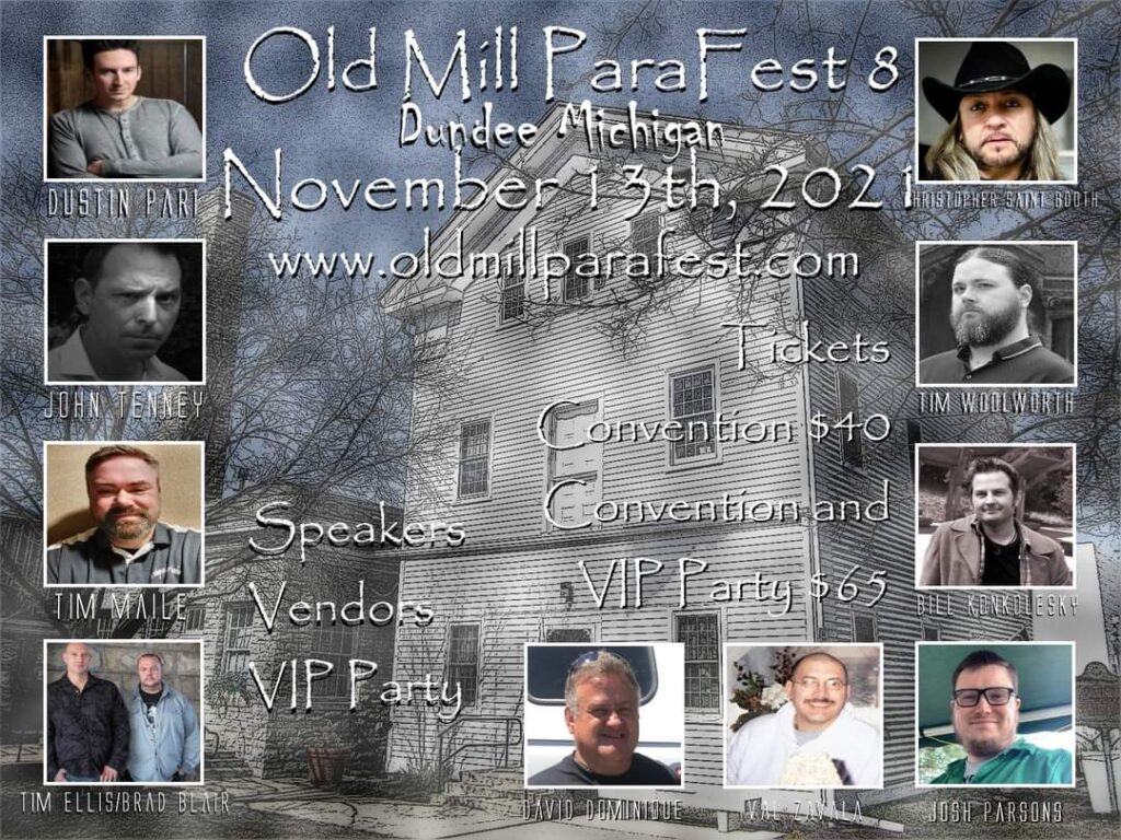 Old Mill Parafest 8 Speakers!
